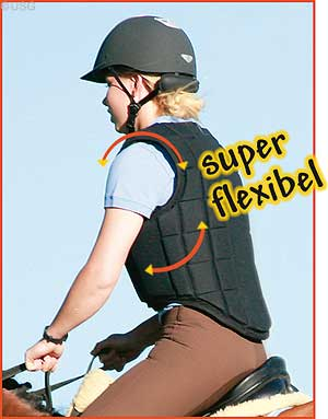 Body Protector Flexi Black